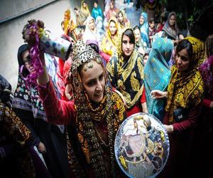 عروسی ترکمنی، تور ترکمن صحرا