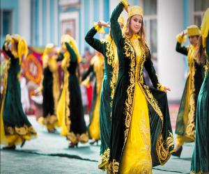 رقصندگان تاجیکی