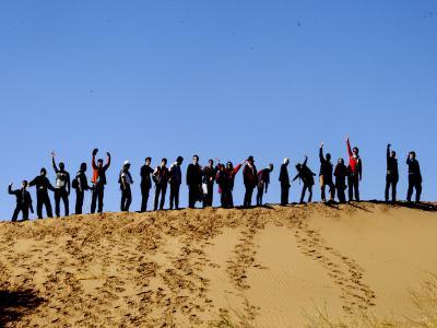 تور کویر مصر و دریاچه نمک |همگام با کویر|