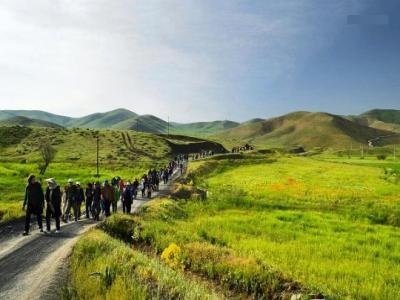 تور سارال و کوهستان چهل چشمه |طبیعت گردی کردستان|