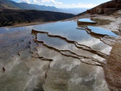 چشمه های باداب سورت و دریاچه الندان |نقاشی هزار رنگ|