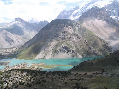 تور تاجیکستان | پیاده روی در کوهستان فان|