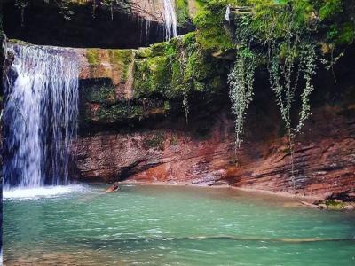 هفت آبشار و جنگل های لفور |تعطیلات مرداد زیر آبشار|
