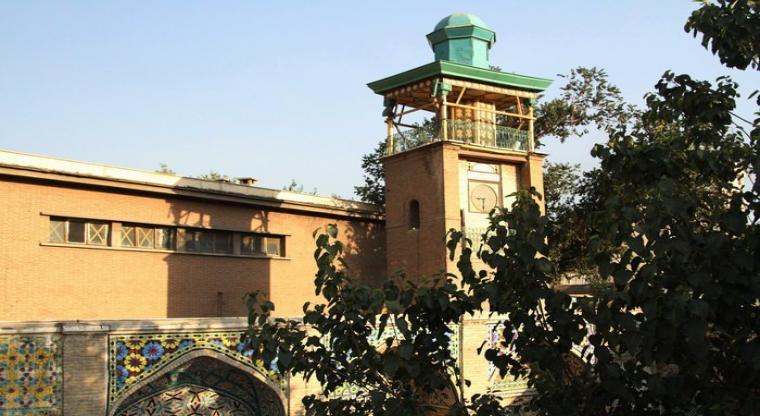 خیابان ولیعصر مسجد مشیرالسلطنه