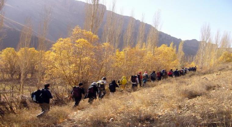 مسیر هرانده به خمده