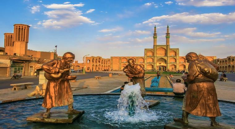 میدان امیرچخماق یزد