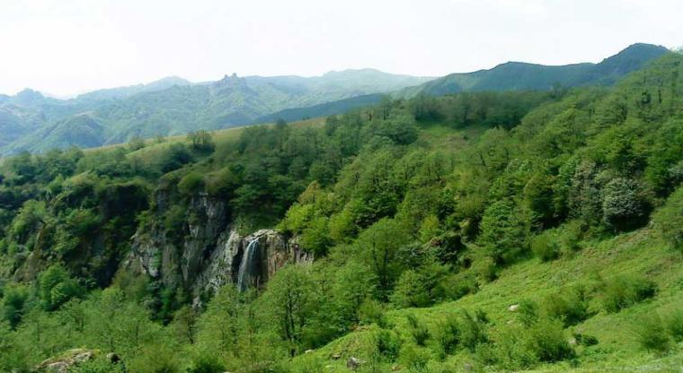 آبشار لاتون و روستای کوته کومه |همگام با آب و باد|