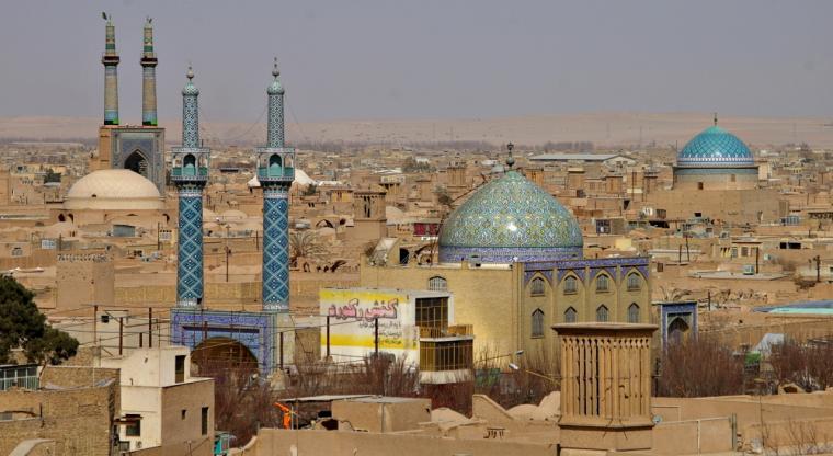 نمای کلی از شهر یزد