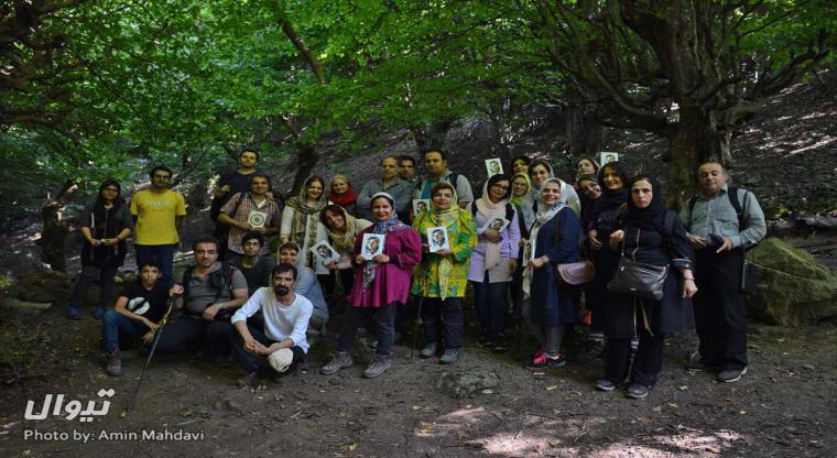 تور جنگل نقله بر | یک سفر یک کتاب با شهلا زرلکی|