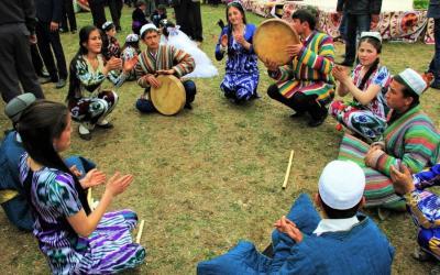 مراسم سنتی نوروز در تاجیکستان
