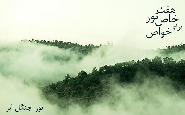 جنگل ابر، فرشی از ابر