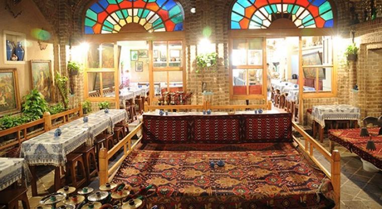 خیابان ولیعصر قهوه خانه آذری